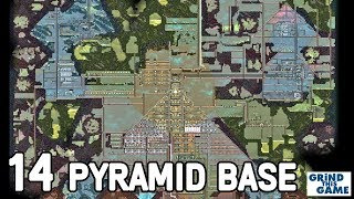 THREE PYRAMIDS BASE #14 - Oxygen Not Included - Occupational Upgrade [4k]