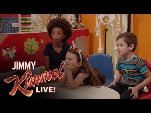 Jimmy Kimmel Talks to Kids About Health Care