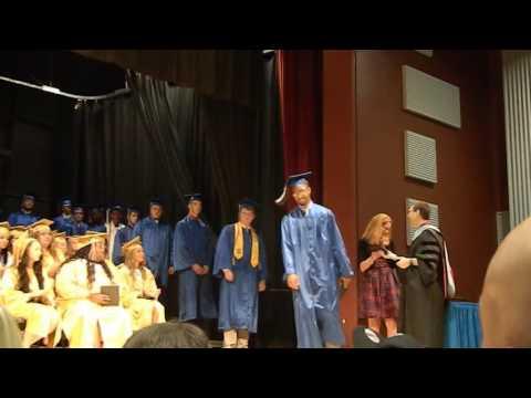 "Mount Union Area High School Graduation 2016 ""Row 7"""