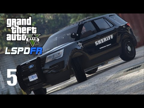 GTA 5 LSPDFR - Episode 5 - Anderson County Sheriff's Office