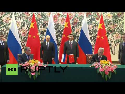 China: Putin, Xi Jinping sign massive gas deal in Beijing