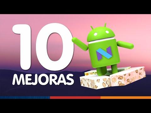 10 NOVEDADES DEL NUEVO ANDROID (7.0 Nougat)