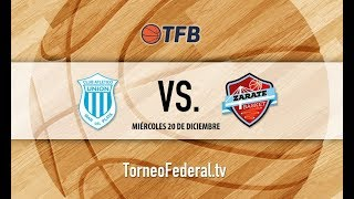 Bonaerense: Unión de Mar del Plata vs. Zárate Básket Independiente   #TFB