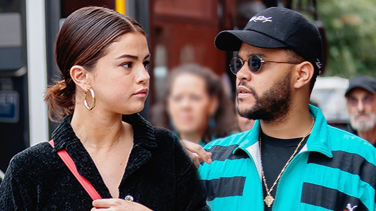 Weeknd and Selena Gomez