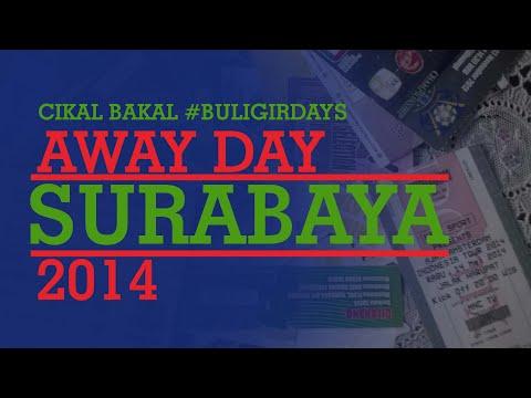 Bobotoh PERSIB #AwayDay Surabaya