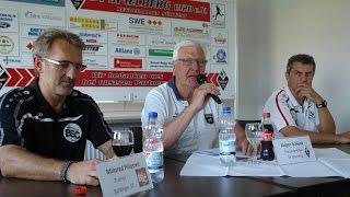Pressekonferenz SV Spielberg - Bahlinger SC am 22.8.2015