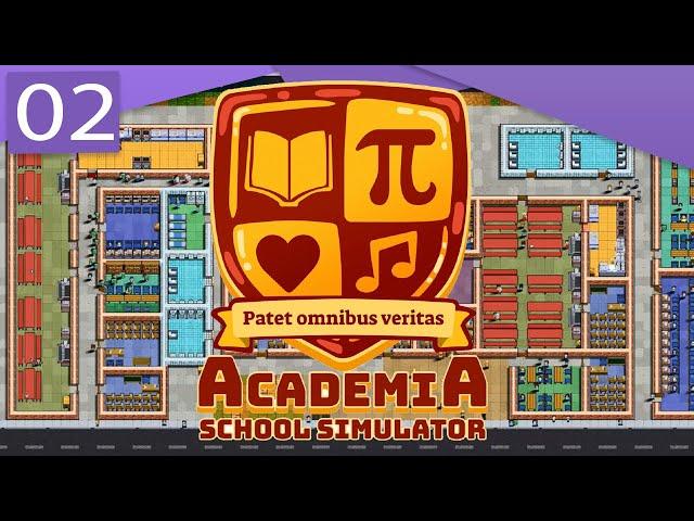 ACADEMIA SCHOOL SIMULATOR | Rediffusion - #2