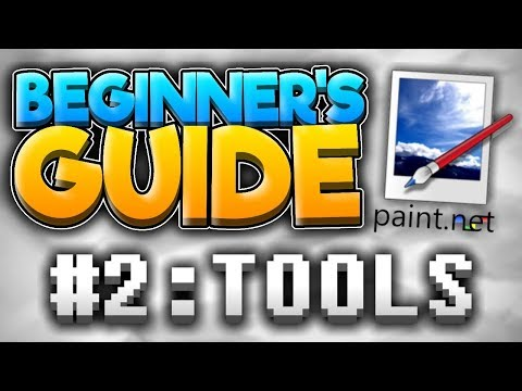 Beginner's Guide to Paint.NET   Tools
