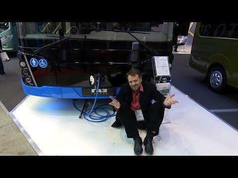"""Электробусы и роботы на выставке """"Мир Автобусов/BusWorld 2018"""""""