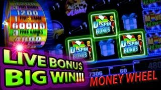 Money Wheel Slots - BONUS HITS - Big Wins 5c from Bally Technologies.