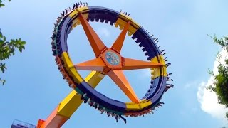 Giant Frisbee Flat Ride Offride POV Chimelong Paradise China