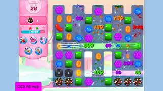 Candy Crush Saga Level 1066 NO BOOSTERS Cookie