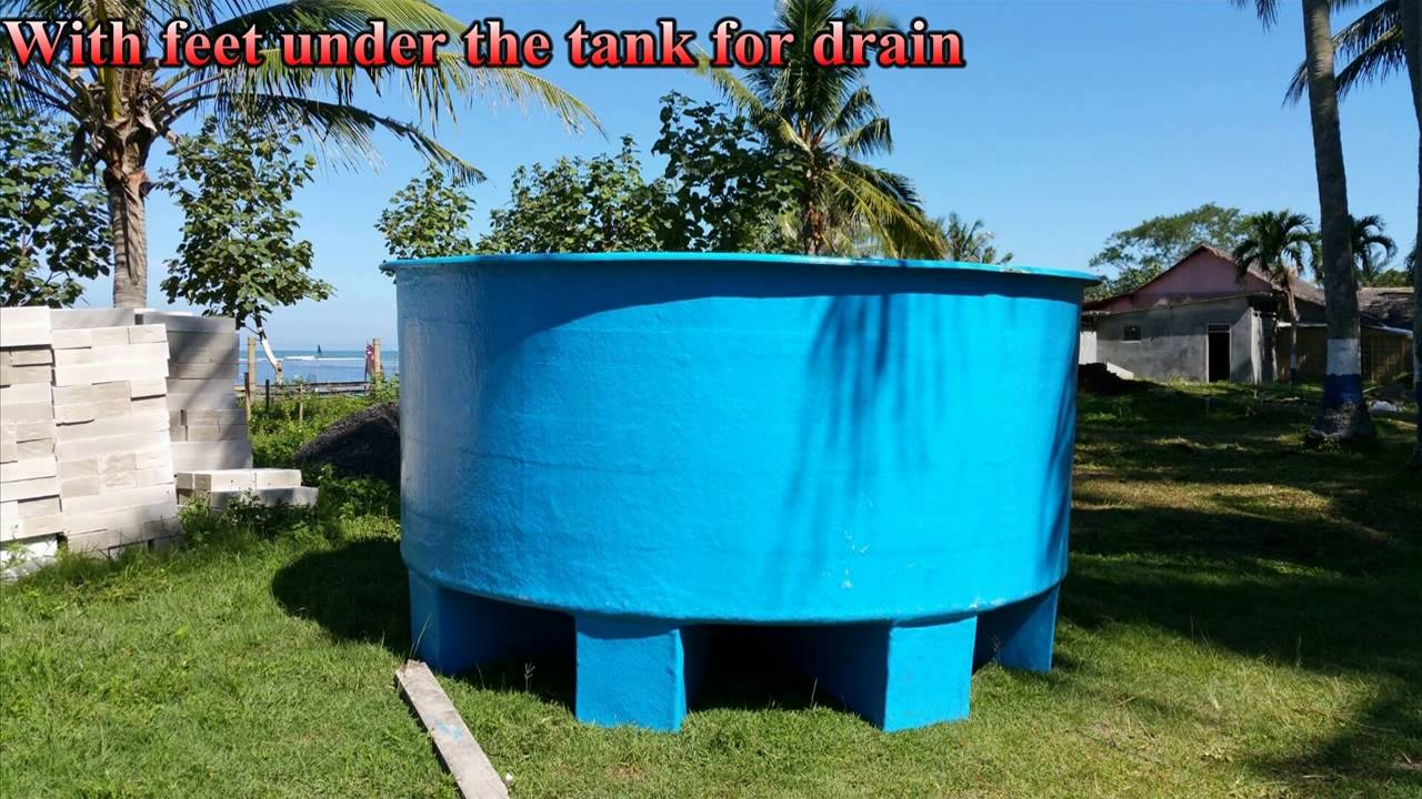 Indoor fish farm with 3 meter tanks youtube for Fish farming tanks