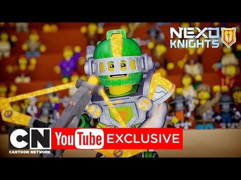 Честная игра для Аарона! | NEXO Knights | Cartoon Network