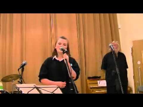 Alisha Singing at the Park lane School Concert.