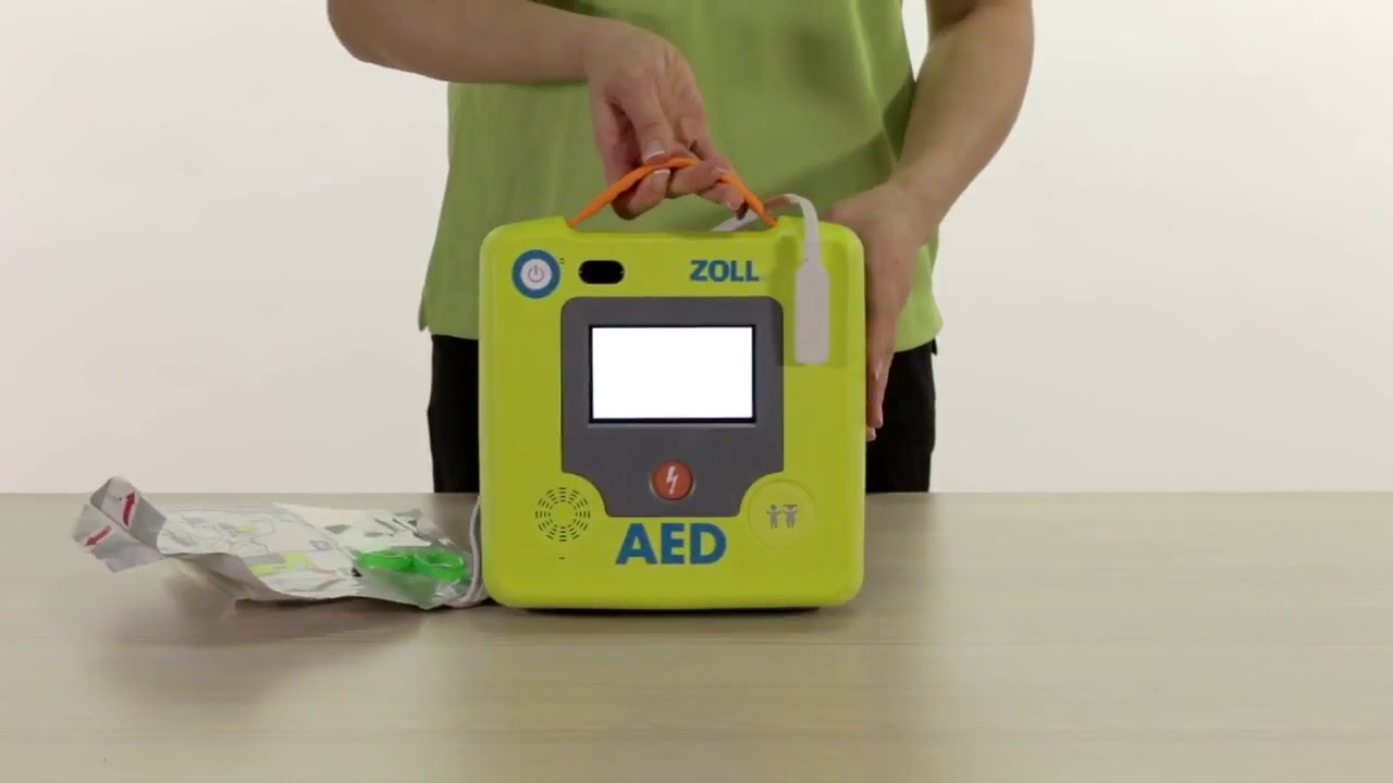 ZOLL AED 3 Basic Set up