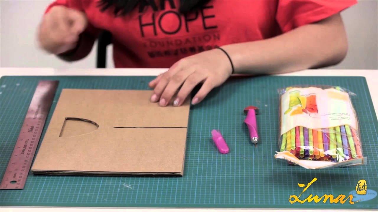 LunarFest Lantern DIY - Plastic Straw Lantern - YouTube for Straw Lantern  173lyp