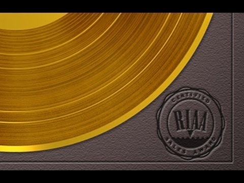 photoshop tutorial how to make a gold record and plaque youtube. Black Bedroom Furniture Sets. Home Design Ideas
