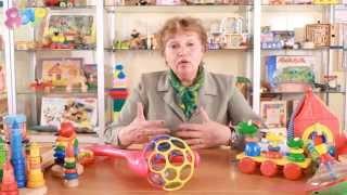 видео Игрушки для ребенка от 1 года до 2 лет