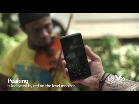 How to create good audio with your LG V20 and Zeno Petersen