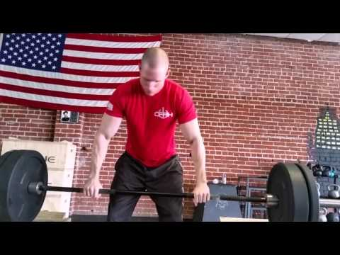Power clean off the jerk box. Crossfit Power House