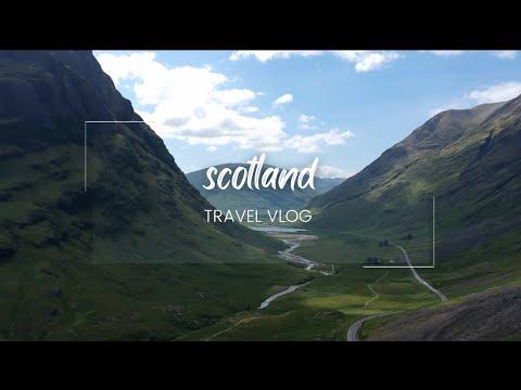 SCOTLAND   Travel VLOG   - Edinburgh, Glasgow, The Highlands, The Isle Of Skye