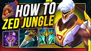 how to play zęd jungle and actually win