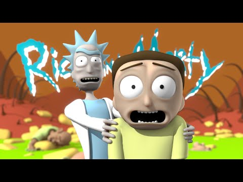 """If """"Rick and Morty"""" was CGI"""