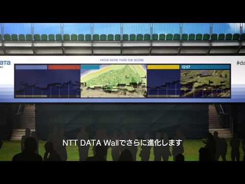NTT DATA Wall - The Open Championship 2014 Royal Liverpool