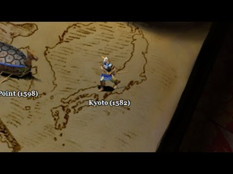 Age of Empires II: The Conquerors Campaign - 4. Battles of the Conquerors - Kyoto (1582)