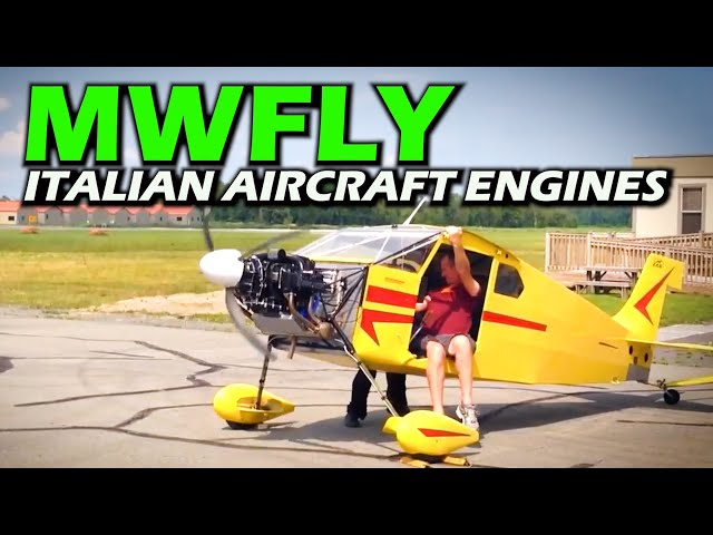 MW FLY Italian Experimental Aircraft Engines - All the Details!