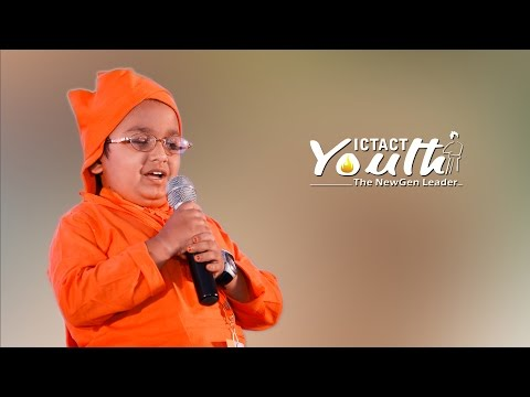 Inspiring Speech | Sabari Venkat S | ICTACT Youth Leadership Summit 2016