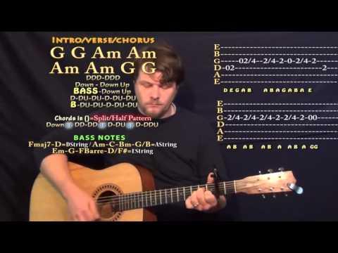 Playlist of Chris Stapleton - Tennessee Whiskey - Guitar Lesson ...