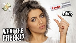 TESTING FRECKLE MAKEUP!? FIRST IMPRESSIONS + REVIEW OF FRECK! WORTH THE MONEY?