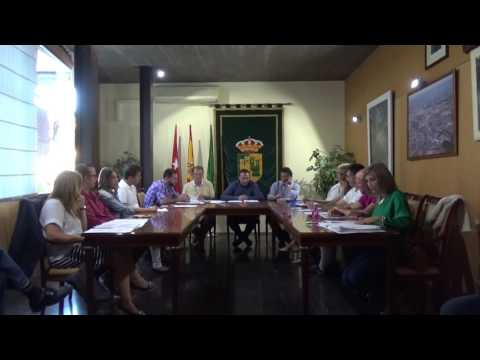 Pleno Municipal 29-09-2016