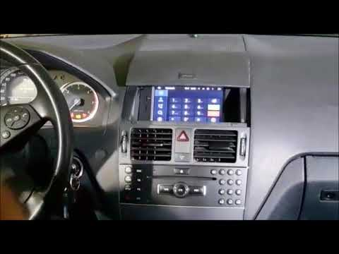 radio navegador dvd mercedes benz clase c w204 android youtube. Black Bedroom Furniture Sets. Home Design Ideas