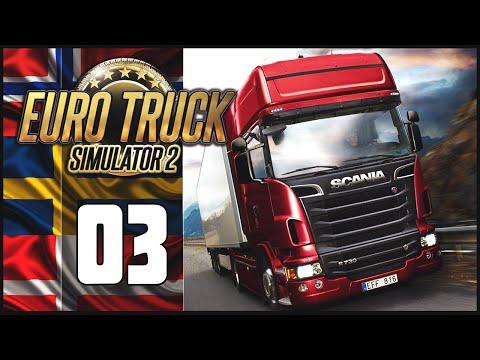 Euro Truck Simulator 2 - Ep.03 - Scandinavia DLC Adventure