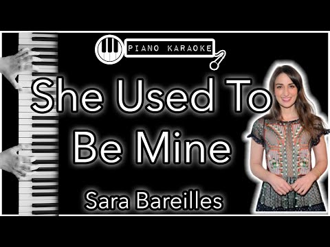 She Used To Be Mine - Sara Bereilles - Piano Karaoke (from The Musical Waitress)