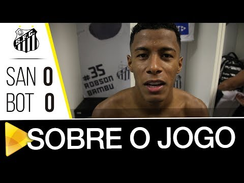 Arthur e Braz analisam classificação contra o Botafogo-SP