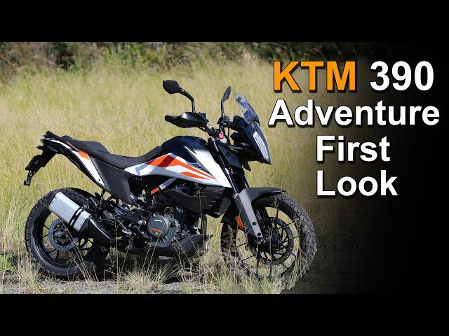 2020 KTM 390 Adventure - First look in the flesh!