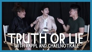 TRUTH OR LIE?!?! ft. RAPPL and CHAELNOTKALE// Luigi Pacheco