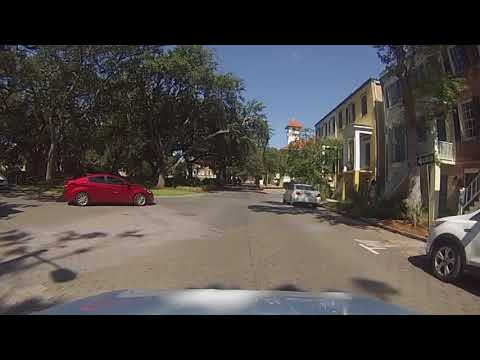 Savannah, Georgia - Drive Through Historic Old Savannah HD (2017)