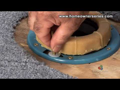 Toilet Flange Wax Ring Replacement Part 2 of 2