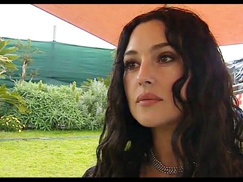 Cannes  interview Monica Bellucci