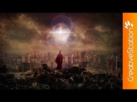Black Bouddha - Speed art (#Photoshop) | CreativeStation