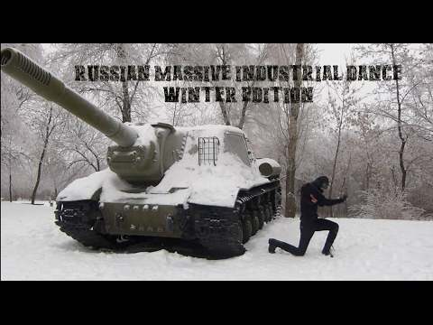 Russian massive industrial dance. Winter edition