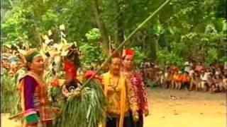 Hudoq, Dayak Modang, Kalimantan Timur
