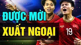Công Phượng - Quang Hải Có Thể Được Mời Ra Nước Ngoài Thi Đấu Sau Asian Cup 2019
