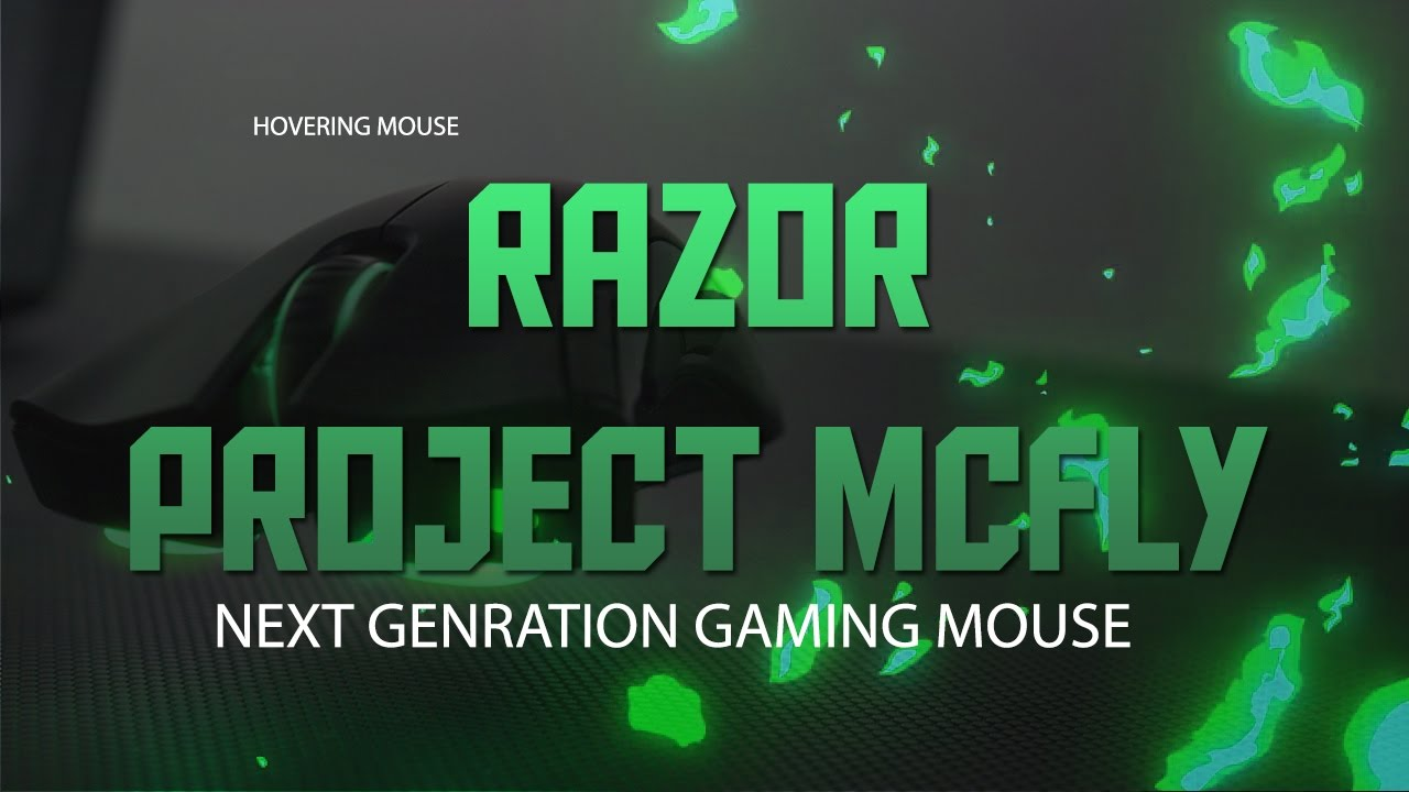 Hovering Mouse By Razor Next Gen Gaming