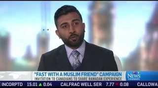 CTV: Ramadhan Campaign 'Fast with a Muslim Friend' by Ahmadiyya Muslim Community Canada